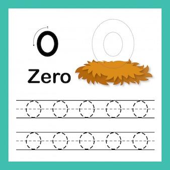 Conexión de puntos y números imprimibles ejercicio ilustración, vector