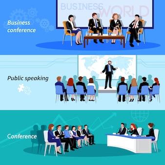 Conferencia de negocios