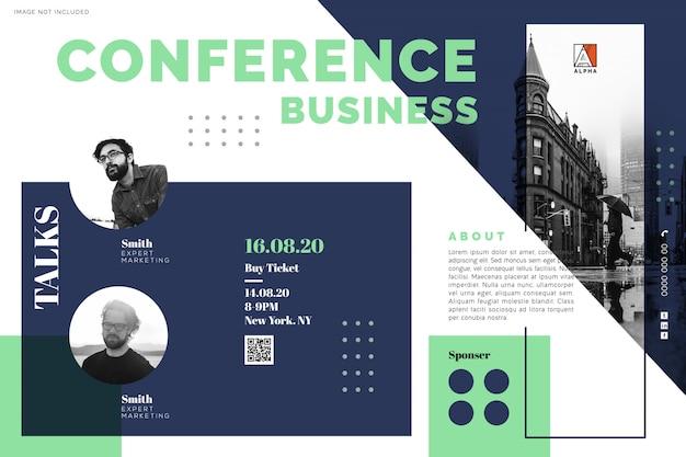 Conferencia de reuniones de negocios