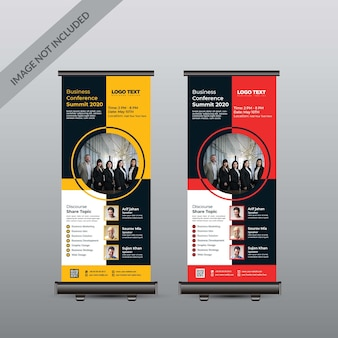 Conferencia roll up banner