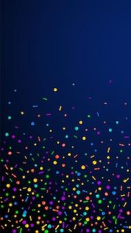 Confeti festivo agradable
