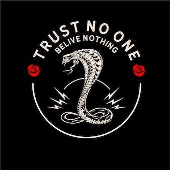 Confía en que nadie crea nada