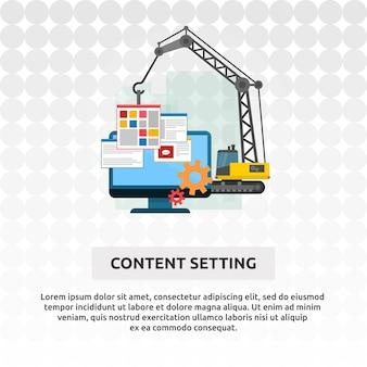 Configuración de contenido