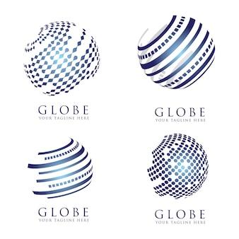 Configurar globe icon design
