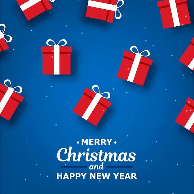 Conjunto abstracto. celebración de navidad. caja de regalo navideña. retro. caja de regalo abierta. tarjeta de regalo navideña. regalo de navidad. banner de vacaciones feliz año nuevo. banner de feliz navidad.