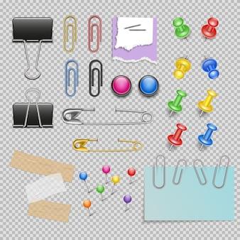 Conjunto de accesorios de oficina