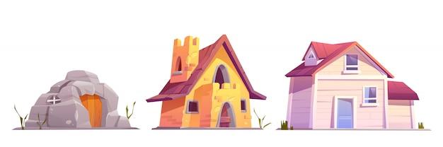 Conjunto de arquitectura de vivienda evolution
