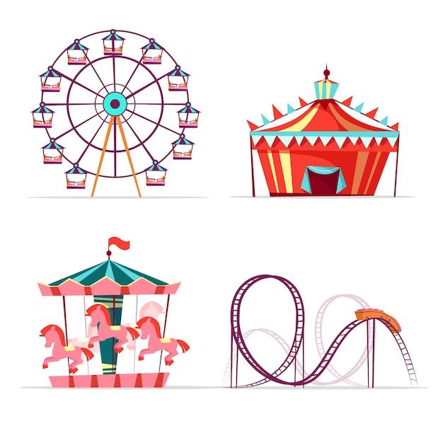 Ilustracion Imagenes Feria Vector Juegos Mecanicos Www Imagenesmy Com