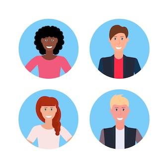 Conjunto de avatares