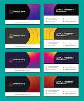 Conjunto de banners de diseño étnico. conjunto abstracto de la religión de diseño con el ornamento.