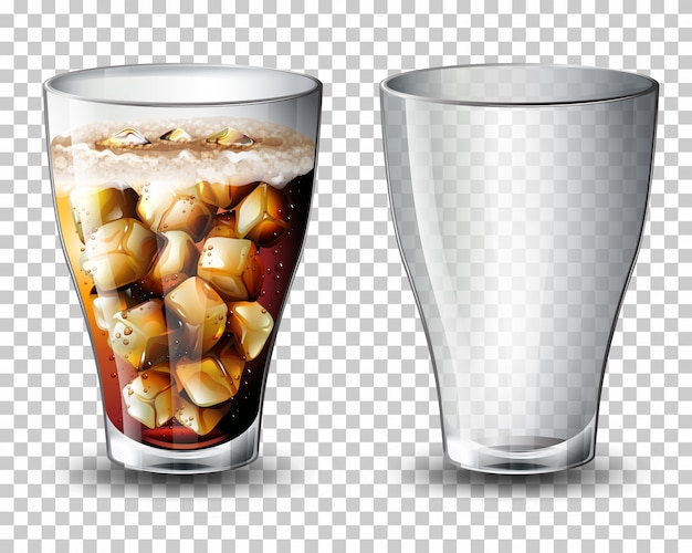 Conjunto de bebida carbonatada