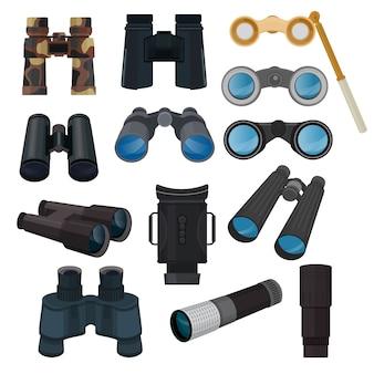 Conjunto de binoculares