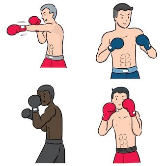 Conjunto de boxeador