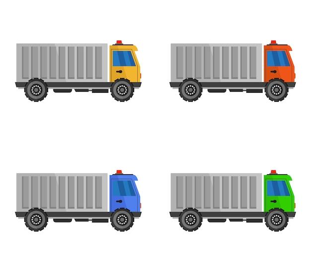 Conjunto de camiones