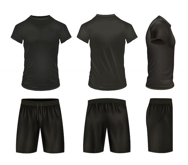 Conjunto de camisas y pantalones cortos