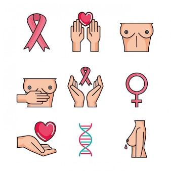 Conjunto de cáncer de mama