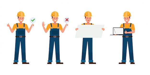 Conjunto de caracteres del constructor