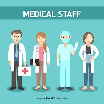 Conjunto de caracteres de doctores