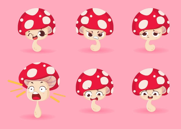 Conjunto de caracteres de hongos