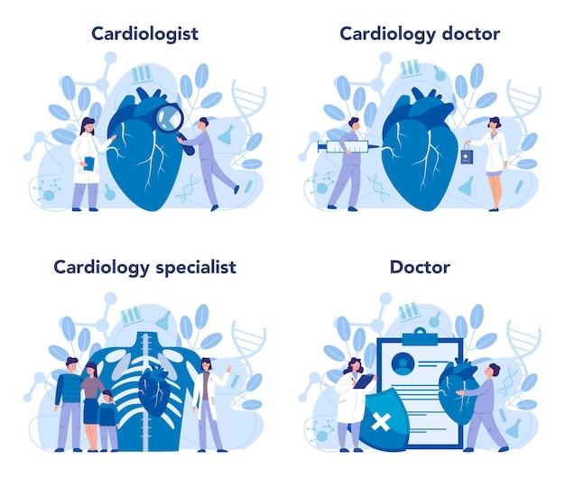 Conjunto de cardiología