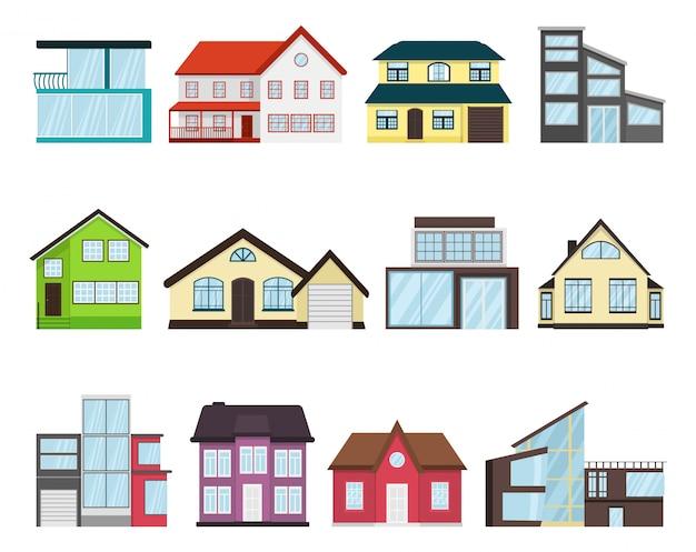 Conjunto casa de campo casa de pueblo
