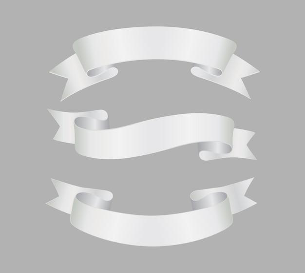 Conjunto de cinta blanca
