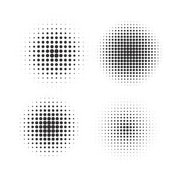 Conjunto de círculos de semitono