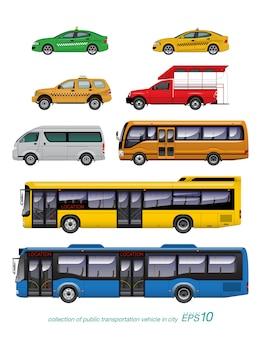 Conjunto de coches desordenados
