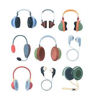 Conjunto de colección de auriculares