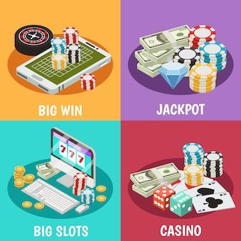 Conjunto de composición de casino