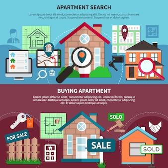 Conjunto de composición inmobiliaria