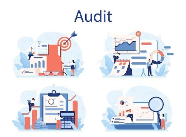 Conjunto de concepto de auditoría