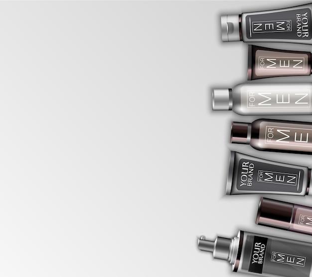 Conjunto de cosméticos para hombres