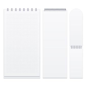 Conjunto de cuadernos de espiral