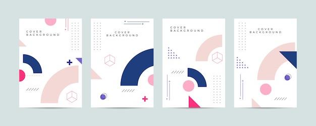 Conjunto de cubierta abstracta de memphis