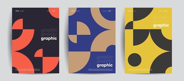 Conjunto de cubiertas geométricas simples