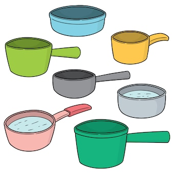 Conjunto de cucharón de agua
