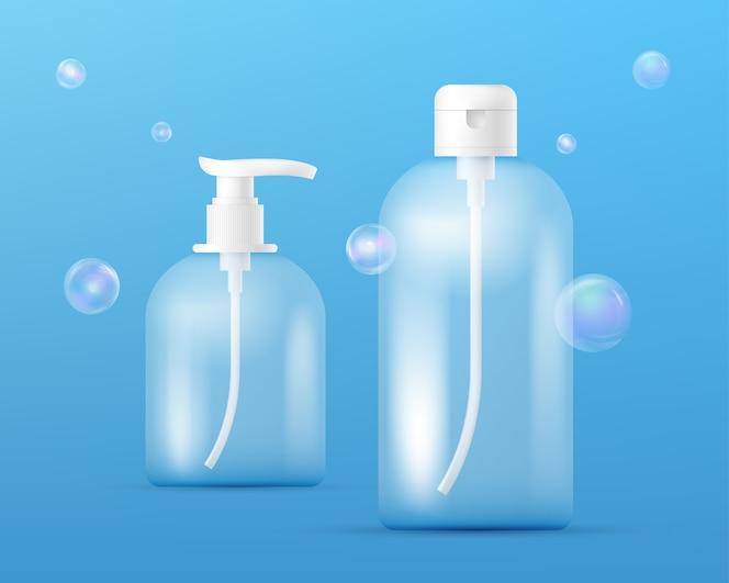 Burbujas transparentes fotos y vectores gratis for Dispensador jabon ducha