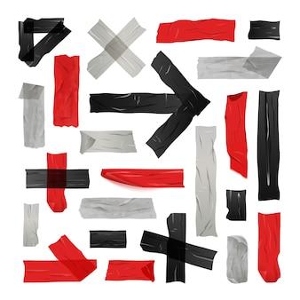 Conjunto de cintas adhesivas de colores