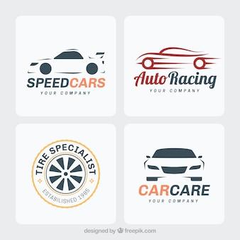 Conjunto de logotipos de coche