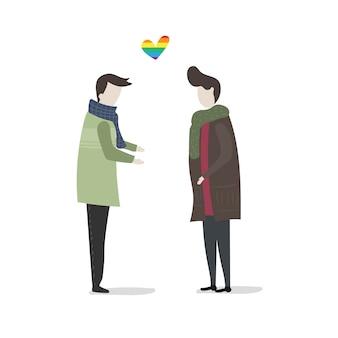 Conjunto de vectores de personas ilustradas