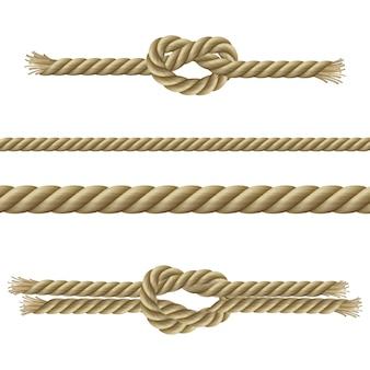 Conjunto decorativo cuerdas