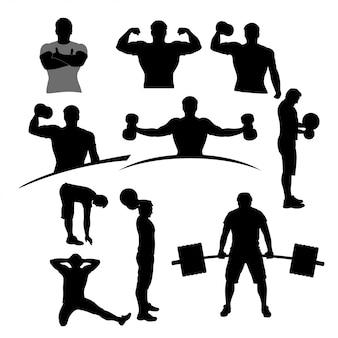 Conjunto de deportistas