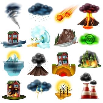 Conjunto de desastres naturales