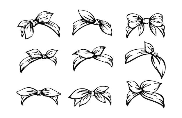 Conjunto de diadema retro para peinados de mujer