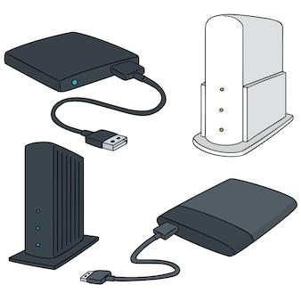 Conjunto de dispositivo de almacenamiento