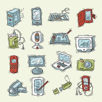 Conjunto de dispositivos digitales