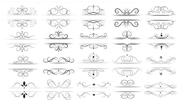 Conjunto de divisores caligráficos