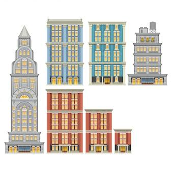 Conjunto de edificios