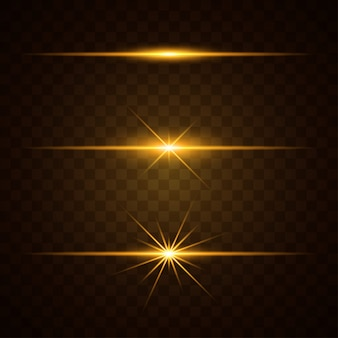 Conjunto de efectos de luz